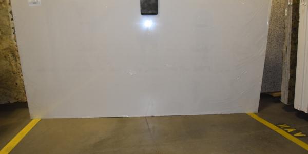 SLAB POL 3CM NQ90 WHITE ICE